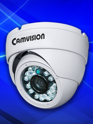 Camvision 2.0MP AHD Fixed Metal Dome Camera