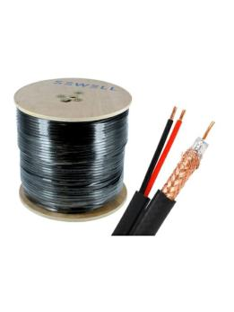 COAXIAL CABLE (SIAMESE WIRE) RG6U 305mtrs