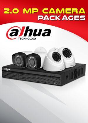 Dahua 2.0MP Camera Package