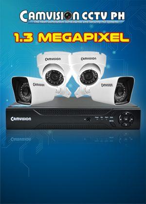 1.3 MP Varifocal Camera Packages