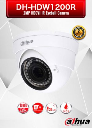 Dahua 2MP HDCVI IR Eyeball Camera - DH-HAC-HDW1200R