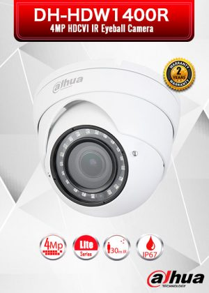 Dahua 4MP HDCVI IR Eyeball Camera / HAC-HDW1400R