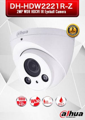 Dahua 2MP WDR HDCVI IR Eyeball Camera / DH-HDW2221R-Z
