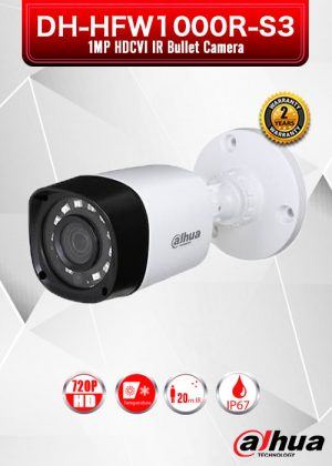Dahua 1MP HDCVI IR Bullet Camera - HAC-HFW1000R-S3