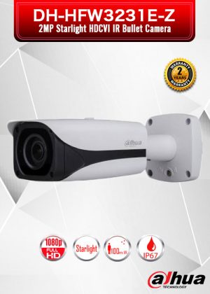 Dahua 2MP Starlight HDCVI IR Bullet Camera / DH-HFW3231E-Z