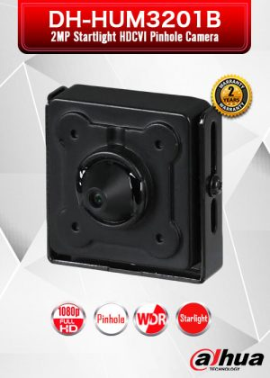 Dahua 2MP Starlight HDCVI Pinhole Camera / DH-HUM3201B
