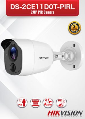 Hikvision 2MP PIR Bullet Camera - DS-2CE11D0T-PIRL