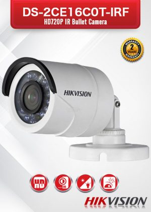 Hikvision HD 720P IR Bullet Camera - DS-2CE16C0T-IRF