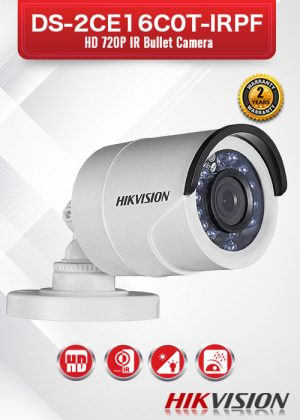 Hikvision HD720P IR Bullet Camera - DS-2CE16C0T-IRPF