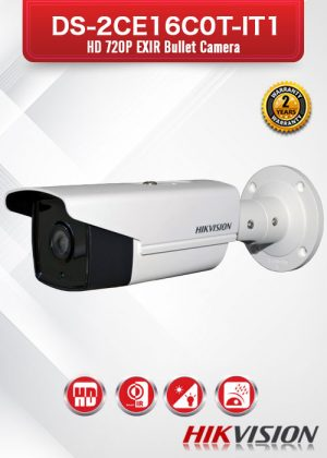 Hikvision HD 720P EXIR Bullet Camera - DS-2CE16C0T-IT1