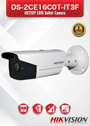 Hikvision HD 720P EXIR Bullet Camera - DS-2CE16C0T-IT3F