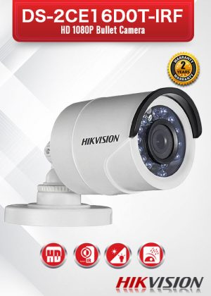 Hikvision HD 1080P Bullet Camera - DS-2CE16D0T-IRF