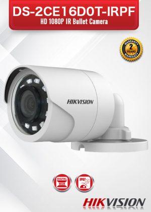 Hikvision HD1080P IR Bullet Camera - DS-2CE16D0T-IRPF