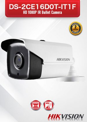 Hikvision HD1080P IR Bullet Camera - DS-2CE16D0T-IT1F