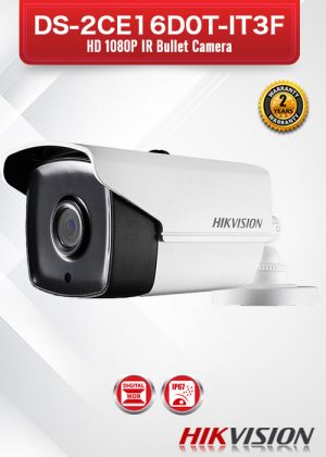 Hikvision HD1080P IR Bullet Camera - DS-2CE16D0T-IT3F
