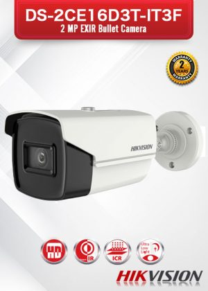 Hikvision 2MP EXIR Bullet Camera - DS-2CE16D3T-IT3F