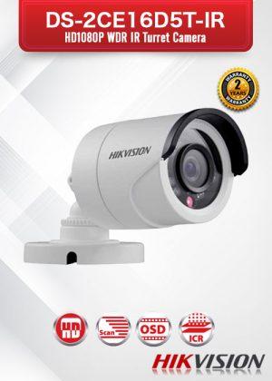 Hikvision HD1080P WDR IR Bullet Camera - DS-2CE16D5T-IR