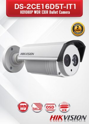 Hikvision HD1080P WDR EXIR Bullet Camera - DS-2CE16D5T-IT1