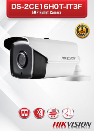 Hikvision 5MP Bullet Camera - DS-2CE16H0T-IT3F