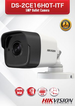 Hikvision 5MP Bullet Camera - DS-2CE16H0T-ITF