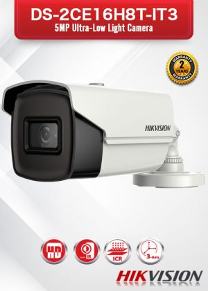 Hikvision 5MP Ultra-Low Light Camera - DS-2CE16H8T-IT3