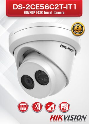 Hikvision HD720P EXIR Turret Camera - DS-2CE56C2T-IT1