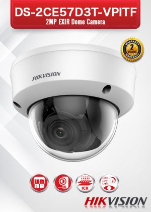 Hikvision Ultra Low-Light EXIR Camera - DS-2CE57D3T-VPITF