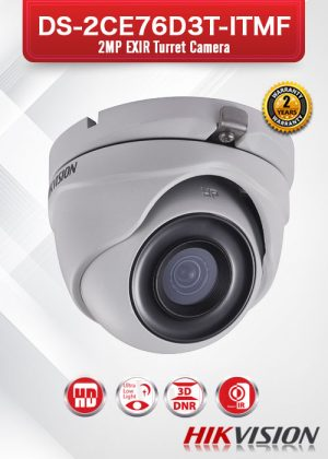 Hikvision Ultra Low-Light EXIR Camera - DS-2CE76D3T-ITMF