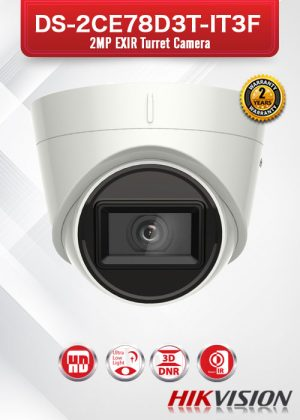 Hikvision Ultra Low-Light EXIR Camera - DS-2CE78D3T-IT3F