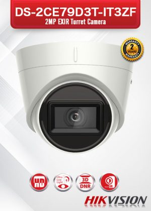 Hikvision Ultra Low-Light EXIR Camera - DS-2CE79D3T-IT3ZF