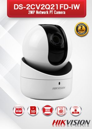 Hikvision 2MP Network PT Camera - DS-2CV2Q21FD-IW