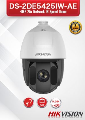 Hikvision 4MP 25X Network IR PTZ Camera - DS-2DE5425IW-AE
