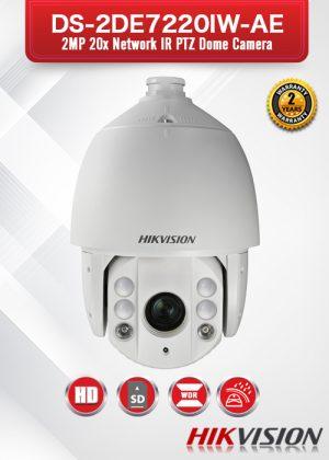 Hikvision 2MP 20X Network IR PTZ Dome Camera - DS-2DE7220IW-AE