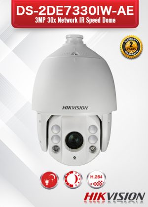 Hikvision 3MP 30X Network IR PTZ Camera - DS-2DE7330IW-AE