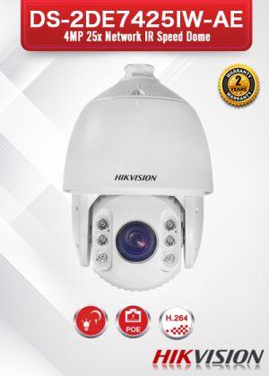 Hikvision 4MP 25X Network IR PTZ Camera - DS-2DE7425IW-AE