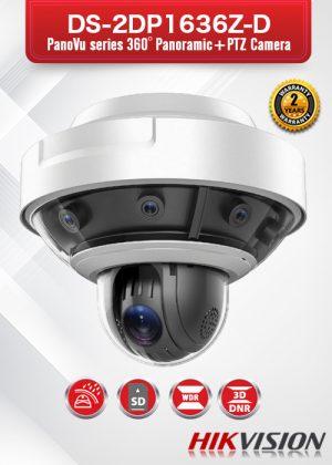 Hikvision PanoVu Series 360°Panoramic+PTZ Camera - DS-2DP1636Z-D