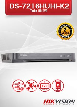 Hikvision 16CH TURBO HD Digital Video Recorder / DS-7216HUHI-K2