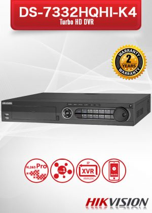 Hikvision 32CH TURBO HD Digital Video Recorder / DS-7332HQHI-K4
