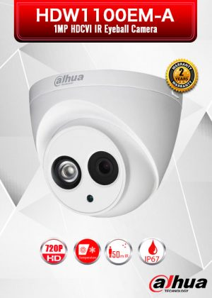 Dahua 1MP HDCVI IR Eyeball Camera / HDW1100EM-A