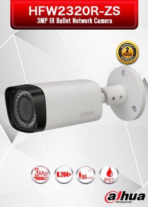 Dahua 3MP IR Bullet Network Camera - HFW2320R-ZS