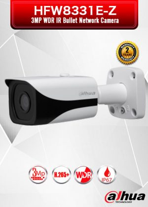 Dahua 3MP WDR IR Bullet Network Camera - HFW8331E-ZE