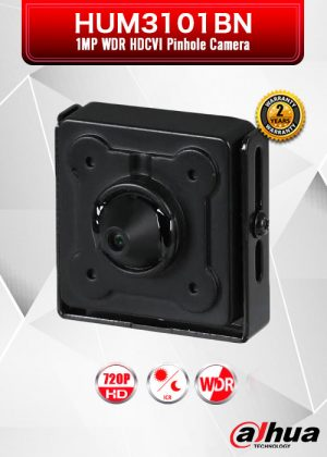 Dahua 1MP 720P WDR HDCVI Pinhole Camera / HUM3101BN