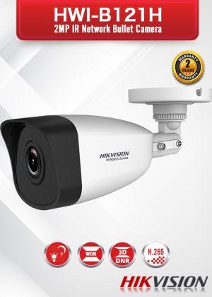 Hikvision 2.0 MP IR Network Bullet Camera - HWI-B121H