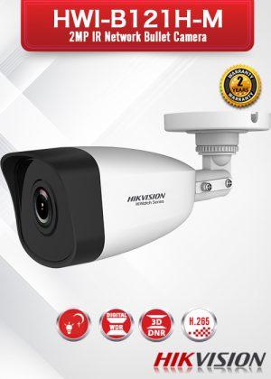 Hikvision 2MP IR Fixed NetworkBulletCamera - HWI-B121H(-M)