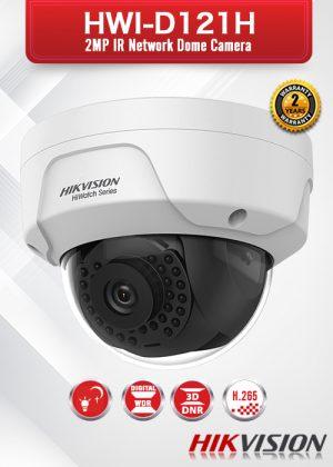 Hikvision 2.0 MP IR Network Dome Camera - HWI-D121H