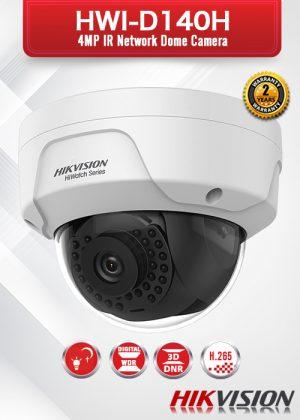 Hikvision 4.0 MP IR Network Dome Camera - HWI-D140H-M