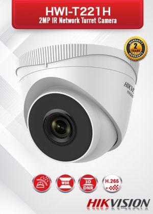 Hikvision 2.0 MP IR Network Turret Camera - HWI-T221H