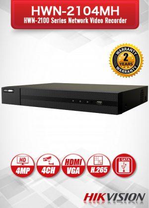 Hikvision 4CH HWN-2100 Series Network Video Recorder - HWN-2104MH