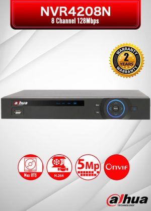 Dahua 8 Channel Embedded Network Video Recorder / NVR4208N