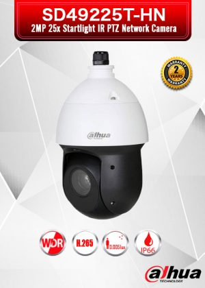 Dahua 2MP 25x Starlight IR PTZ Network Camera - SD49225T-HN